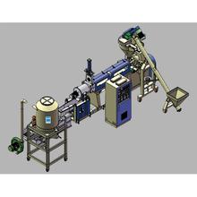 PE/PP/PS/ABS Pelletizing Granulation Line