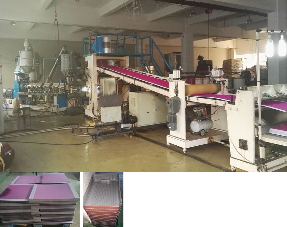 ABS Luggage Sheet extrusion machine line