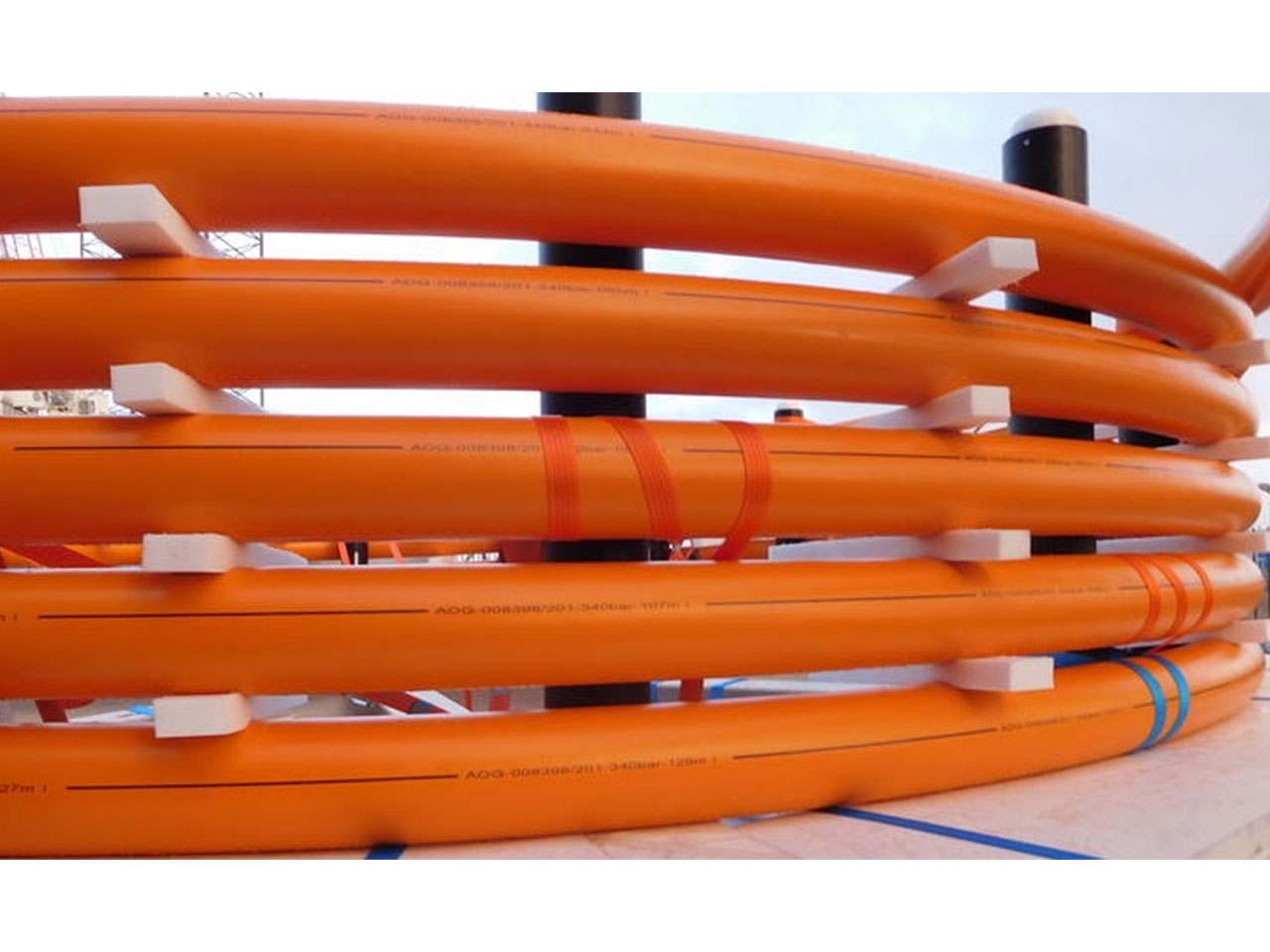 (TCP Pipes & RTP Pipes)Glass fiber unidirectional tape reinforced thermoplastic composite pipe production line