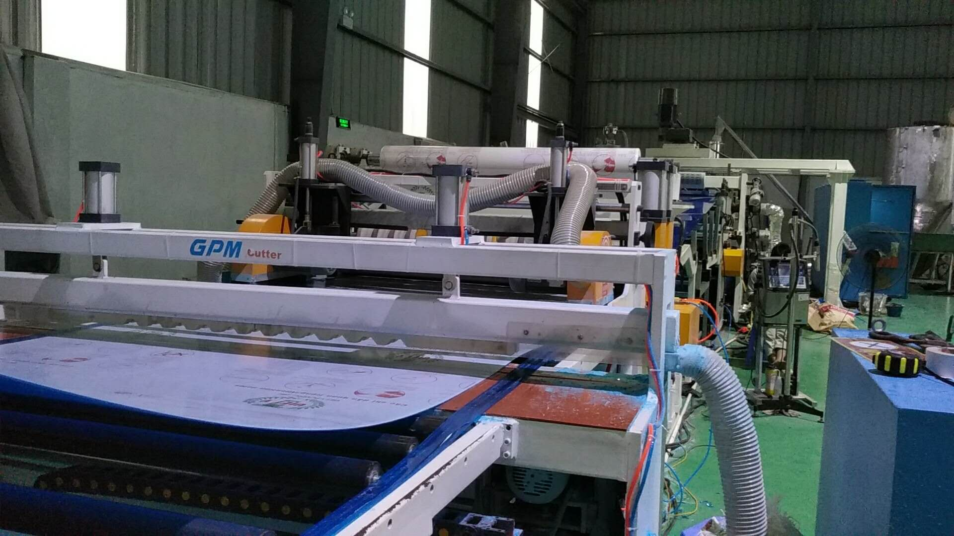 Acrylic/GPPS/Polycarbonate Sheet Extrusion Line
