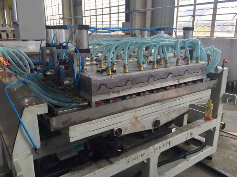 PVC Hollow Corrugated Sheet Extrusion Line