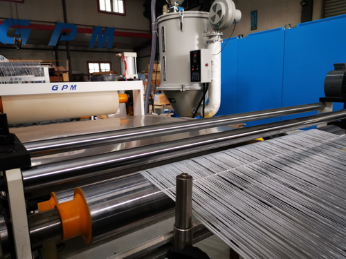PE Continuous Glass Fiber Reinforced Thermoplastic Unidirectional Tape Production Line